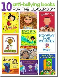 christina Fisher originally shared this post: ABC: Anti-Bullying Coalition  Some great Anti-Bullying Books for Parents/Classroom. What would you add?  More photos from christina Fisher