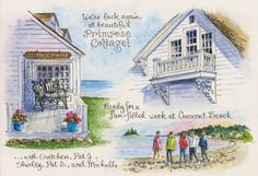 Everyday Artist: Sketches from Maine, Part I