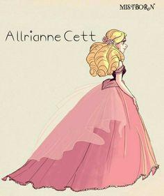 Allrianne Cett, Lord Cett's daughter
