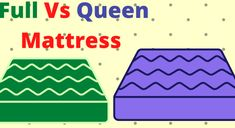 Are you going to buy full or queen mattress ? You should know the full vs queen mattress comparison.full vs queen bed are very important for single & couple Full Bed Mattress, Queen Mattress, Queen Size Bedding, Mattress Comparison, Mattress Dimensions, Sleeping Alone, Small Master Bedroom, Duvet Sets