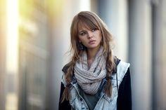 People 2048x1367 Anastasia Scheglova blonde scarf pigtails women model auburn hair