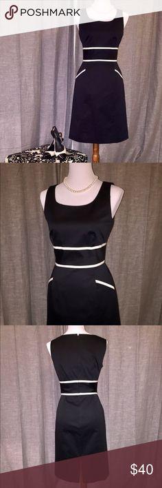 Antonio Melani Black Dress 95% cotton; 5% poly. Previously worn but in perfect condition. ANTONIO MELANI Dresses Mini
