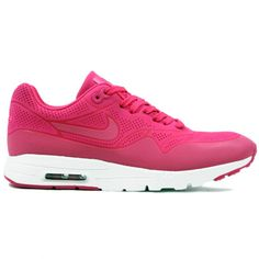 5dc47af33602ce Nike Air Max 1 Ultra Moire in fire berry colour created by Tinker Hatfield.  Getting