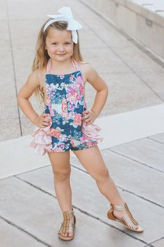 b96b84a7c019 62 Best Toddler Ruffled Rompers images