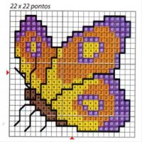 Thrilling Designing Your Own Cross Stitch Embroidery Patterns Ideas. Exhilarating Designing Your Own Cross Stitch Embroidery Patterns Ideas. Small Cross Stitch, Butterfly Cross Stitch, Cute Cross Stitch, Cross Stitch Animals, Cross Stitch Designs, Cross Stitch Patterns, Cross Stitching, Cross Stitch Embroidery, Embroidery Patterns