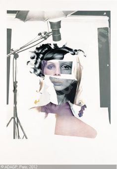 Study for a Fashion plate Artist: Richard Hamilton Completion Date: 1969 Style: Pop Art Genre: sketch and study Tags: fashion