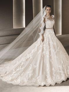 ROBY ballgown wedding dress