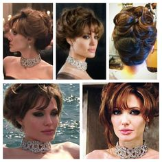 "Angelina Jolie Hair in ""The Tourist"""