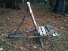 If I were stranded, I might need to make one.....then if I needed fire wood I'd burn the thing
