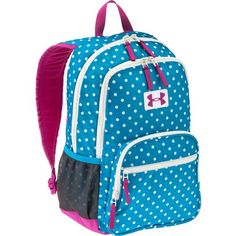 Cute Under Armour backpack for kids #AcademySports #OakParkMall                                                                                                                                                      More