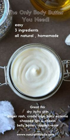 Homemade Body Butter - This luxurious homemade body butter is a real workhorse…