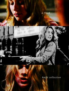 Jo was the best kind of freak (and one of the only women on SPN who didn't bug the crap out of me).