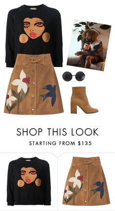 """""""I just met this guy..."""" by caro-medi-romero ❤ liked on Polyvore featuring Peter Jensen, RED Valentino and L'Autre Chose"""