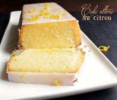 cake ultime au citron de Bernard Plus Easy No Bake Desserts, Lemon Desserts, Köstliche Desserts, Dessert Recipes, Desserts Faciles, Lemon Cakes, Cake Ultime Au Citron, Citron Cake, Food Cakes