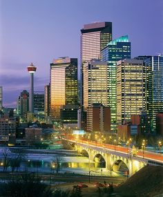 The City of Calgary in Alberta, Canada