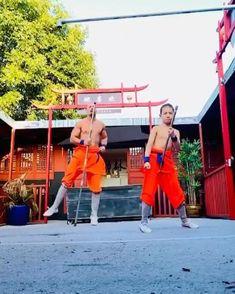 Self Defense Moves, Self Defense Martial Arts, Martial Arts Workout, Martial Arts Training, Cool Dance Moves, Bo Staff, Wow Video, Amazing Gymnastics, Martial Arts Techniques