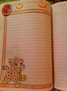 Cute Borders, Decorate Notebook, Border Design, Doodles, Donut Tower, Doodle, Zentangle