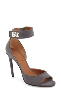 There's a lot to be said about a pair of heels and these Givenchy ankle strap…