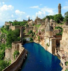 Awesome Chittorgarh – India - about an hour and a half from Udaiphur- pretty!