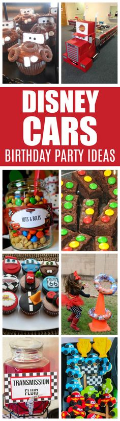 20 Disney Pixars Cars Party Ideas   Pretty My Party