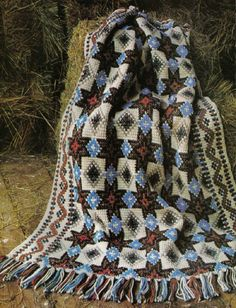 Awesome Collection of Crochet Afghans Patterns Vol. 5