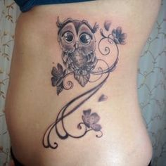owl tatoo on Pinterest | Owl Tattoos Cute Owl Tattoo and Owl Tattoo ...