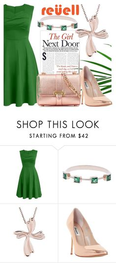 """""""My Reuell Moment"""" by srebrnisnijeg ❤ liked on Polyvore featuring Dune, Aspinal of London and vintage"""