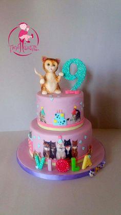 Cats  - Cake by Daniela Mistretta