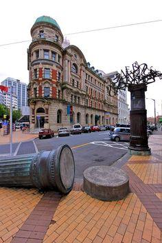 Bill ✔️ Public Trust Bldg, Wellington, North Island, New Zealand Copyright: Eric Daniels. Capital Of New Zealand, New Zealand North, Visit New Zealand, New Zealand Travel, Islas Cook, Tasmania, Wellington New Zealand, Kiwiana, The Beautiful Country