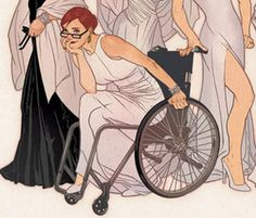 'How to Illustrate Wheelchairs - By Someone Who Uses One!!' - in The Mary Sue
