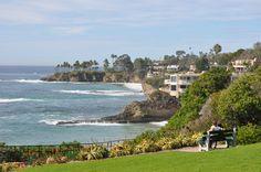 Heisler Park in Laguna Beach, CA
