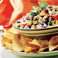 Hannaford   Cold appetizers   Black Bean & Corn Salsa