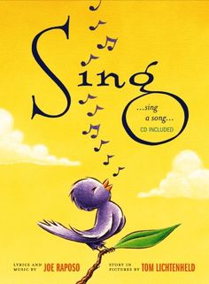 Sing...Sing a Song, in Singable Picture Books (Original Song by Joe Raposo) Lyric page at the end includes lyrics in Spanish