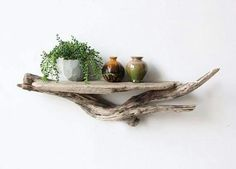 Fabulous, Affordable And Easy Diy Driftwood Shelves To Complete In No Time - Crafts Zen Twig Furniture, Driftwood Furniture, Driftwood Projects, Furniture Ideas, Driftwood Ideas, Beach Crafts, Home Crafts, Driftwood Shelf, Driftwood Sculpture