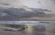 Alexey Alpatov. Sunset. 20x30, oil, canvas, 2016