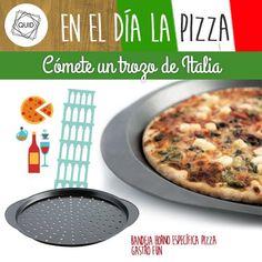 Hoy es el #DiaDeLaPizza!! ¿Cómo preparas tú la #pizza?