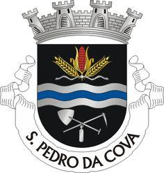 Brasão de armas de São Pedro da Cova