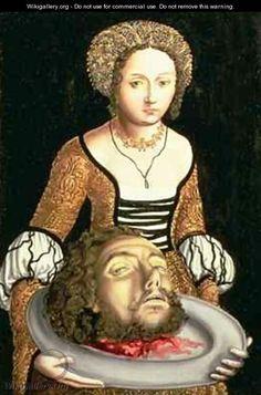Salome - Lucas The Elder Cranach