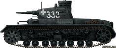 Panzer III Ausf.C, Poland, September 1939.