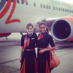 GOL Airlines Stewardess