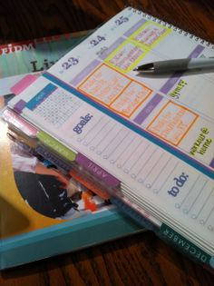 I like how they box off each event in different colors so you know what they are in reference to. Erin Condren Life Planner Review... http://tortsandatiara.blogspot.com/2014/01/erin-condren-life-planner-review.html