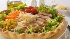 Ensalada en Canasta Ligth