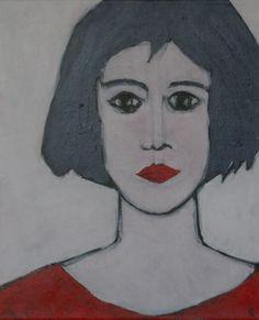 """Saatchi Online Artist robert Alexander; Painting, """"Lola"""" #art"""