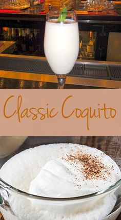 Keep it traditional and simple with this Classic Coquito recipe.