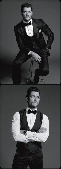 David Gandy, Men's Fashion, Style, Clothing, Male Model, Beautiful Man, Guy, Handsome, Hot, Sexy, Eye Candy, Suits, Jacket, Necktie, Pocketchief デイビッド・ガンディ メンズファッション 男性モデル スーツ ジャケット ネクタイ ポケットチーフ