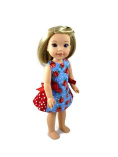 14.5 inch doll clothes, designed to fit 14.5 inch dolls such as WellieWishers™…