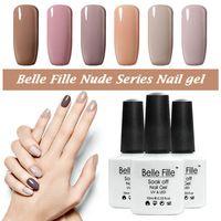 10ml UV nail gel polish lacquer CND nail art varnish Chocolate Nude Color salon fingernail polish bridemaid makeup nagellack