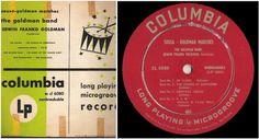 "Goldman Band, The / Sousa-Goldman Marches (1949) / Columbia CL-6080 (LP, 10""), $4.25"