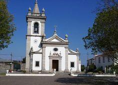 Igreja Matriz de Vila Praia de Âncora, Portugal.