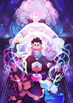 Steven Universe - large art print - PREORDER